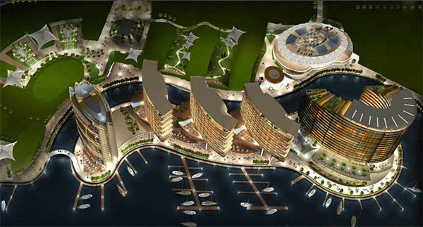 Jewel of the Creek, Dubai completes major construction milestone