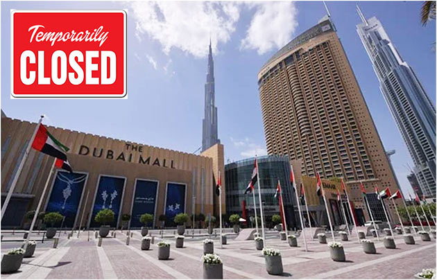 services closed dubai