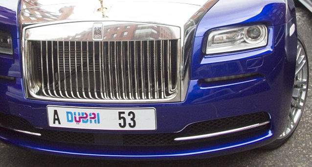 digital number plates