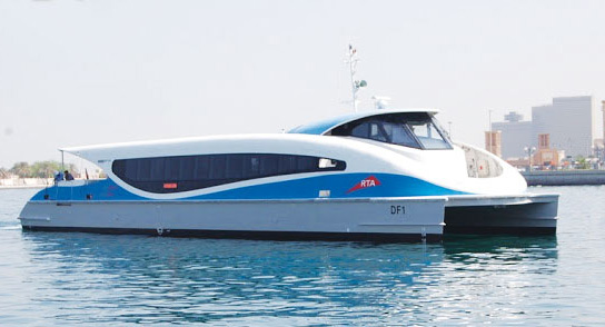 ferry to connect dubai mall and marina mall